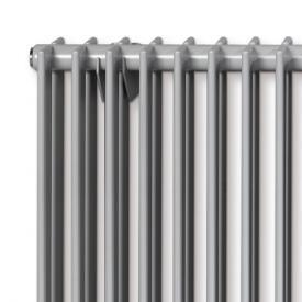 Vasco Tulipa Horizontal niedrige Heizkörper, 2reihig breite 540 mm, 12 Rohre, 503 Watt