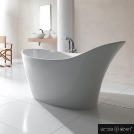 Victoria + Albert Amalfi Freistehende Oval Badewanne weiß glanz/innen weiß glanz