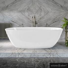 Victoria + Albert Barcelona 2 Freistehende Oval-Badewanne weiß glanz/innen weiß glanz