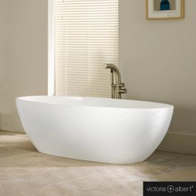 Victoria + Albert Barcelona Freistehende Oval-Badewanne weiß glanz/innen weiß glanz