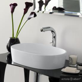 Victoria + Albert Ios Aufsatzwaschtisch weiß glanz/weiß glanz