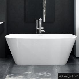Victoria + Albert Vetralla Freistehende Oval Badewanne weiß glanz/innen weiß glanz