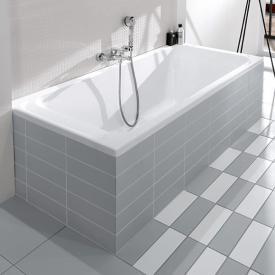 Villeroy & Boch Architectura Solo Rechteck-Badewanne, Einbau weiß