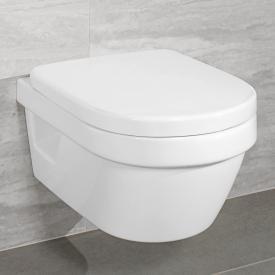 Villeroy & Boch Architectura Wand-Tiefspül-WC Compact offener Spülrand weiß, mit CeramicPlus