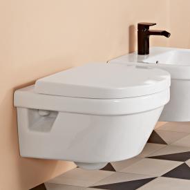 Villeroy & Boch Architectura Wand-Tiefspül-WC, mit WC-Sitz weiß, ohne Spülrand, mit CeramicPlus