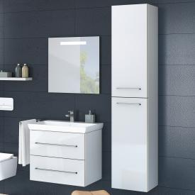 Villeroy & Boch Avento Hochschrank mit 2 Türen Front crystal white / Korpus crystal white