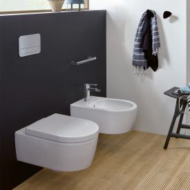 Villeroy & Boch Avento Wand-Tiefspül-WC, DirectFlush, mit WC-Sitz, Combi-Pack weiß