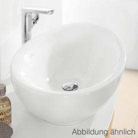 Villeroy & Boch Aveo New Generation Aufsatzwaschtisch weiß mit CeramicPlus mit Überlauf
