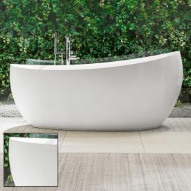 Villeroy & Boch Aveo New Generation freistehende Badewanne starwhite, mit Ab- und Überlauf