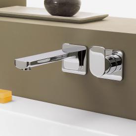 Villeroy & Boch Cult Waschtisch-Wand-Einhandbatterie mit Einzelrosetten chrom