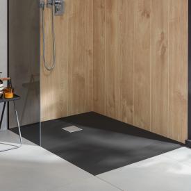 Villeroy & Boch Embrace Duschwanne Komplett-Set anthracite matt
