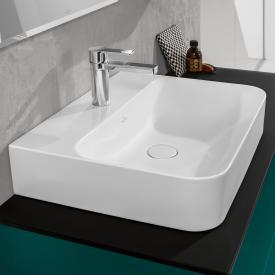 Villeroy & Boch Finion Waschtisch weiß mit CeramicPlus, geschliffen, mit verdecktem Überlauf