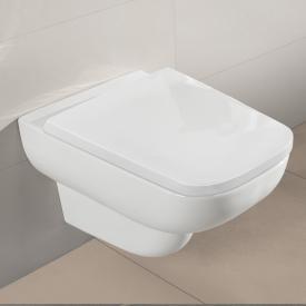 Villeroy & Boch Joyce Wand-Tiefspül-WC, offener Spülrand, DirectFlush weiß, mit AntiBac