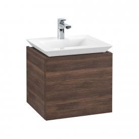 Villeroy & Boch Legato Waschtischunterschrank für Handwaschbecken mit 1 Auszug Front arizona oak / Korpus arizona oak