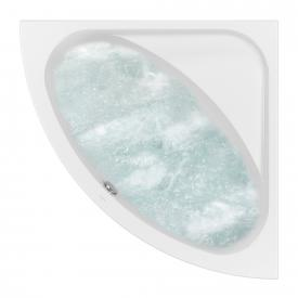 Villeroy & Boch Loop & Friends OVAL Duo Eck-Whirlwanne, Technikposition 2 starwhite mit AirPool Entry