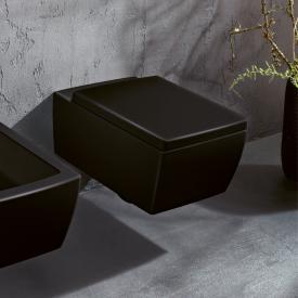 Villeroy & Boch Memento 2.0 Wand-Tiefspül-WC, spülrandlos glossy black, mit CeramicPlus