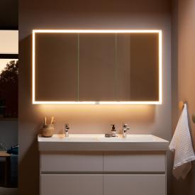 Villeroy & Boch My View Now Aufputz-Spiegelschrank mit LED-Beleuchtung mit 3 Türen SmartHome fähig