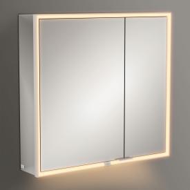 Villeroy & Boch My View Now Aufputz-Spiegelschrank mit LED-Beleuchtung mit 2 Türen SmartHome fähig