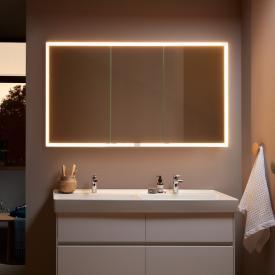 Villeroy & Boch My View Now Einbau-Spiegelschrank mit LED-Beleuchtung mit 3 Türen mit Sensordimmer
