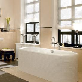 Villeroy & Boch Nexus Oval-Badewanne, Einbau weiß
