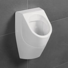 Villeroy & Boch O.novo Absaug-Urinal, ohne Spülrand, verdeckter Zulauf weiß, mit CeramicPlus