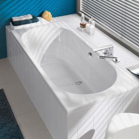 Villeroy & Boch O.novo Duo Rechteck-Badewanne, Einbau weiß