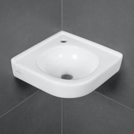 Villeroy & Boch O.novo Eck-Handwaschbecken weiß, ohne Überlauf