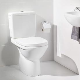 Villeroy & Boch O.novo Stand-Tiefspül-WC für Kombination mit Spülrand, weiß, mit CeramicPlus