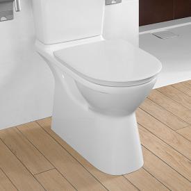 Villeroy & Boch O.novo Vita Stand-Tiefspül-WC für Kombination, offener Spülrand weiß, mit CeramicPlus