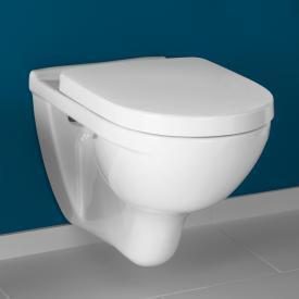 Villeroy & Boch O.novo Wand-Tiefspül-WC ohne Spülrand, weiß, mit CeramicPlus