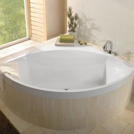 Villeroy & Boch Squaro Eck-Badewanne weiß