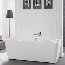 Villeroy & Boch Squaro Excellence Duo freistehende Badewanne weiß ohne integriertem Wassereinlauf