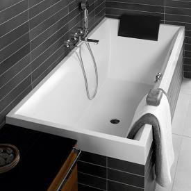 Villeroy & Boch Squaro Rechteck-Badewanne, Einbau weiß