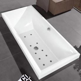 Villeroy & Boch Squaro Rechteck Badewanne mit Whirlpoolsystem starwhite, mit AirPool Comfort
