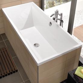Villeroy & Boch Squaro Slim Line Rechteck-Badewanne weiß