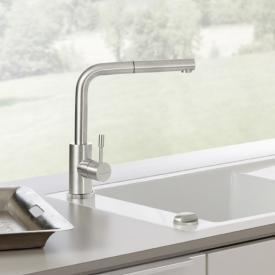 Villeroy & Boch Steel Shower Küchenarmatur mit ausziehbarem Auslauf