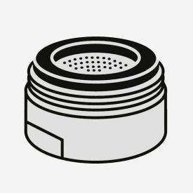 Villeroy & Boch Strahlregler für Niederdruck-Einhand-Spültischbatterie edelstahl poliert
