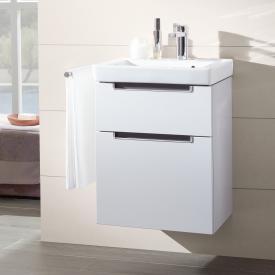 Villeroy & Boch Subway 2.0 Handwaschbecken mit Waschtischunterschrank mit 2 Auszügen