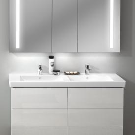 Villeroy & Boch Subway 2.0 Doppel-Möbelwaschtisch weiß mit CeramicPlus mit Überlauf
