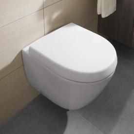 Villeroy & Boch Subway 2.0 Wand-Tiefspül-WC Compact mit Spülrand, weiß, mit CeramicPlus