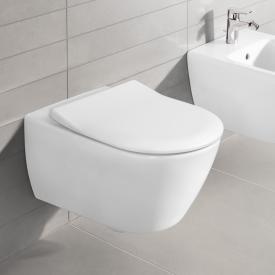 Villeroy & Boch Subway 2.0 Wand-Tiefspül-WC offener Spülrand, DirectFlush weiß, mit CeramicPlus