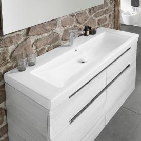 Villeroy & Boch Subway 2.0 Möbelwaschtisch weiß mit CeramicPlus mit 1 Hahnloch