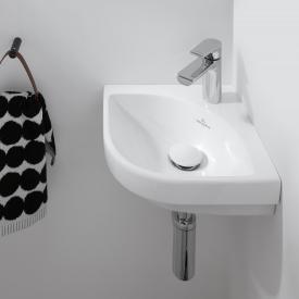 Villeroy & Boch Subway 3.0 Eck-Handwaschbecken weiß, mit CeramicPlus