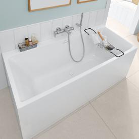 Villeroy & Boch Subway 3.0 Rechteck-Badewanne weiß, Überlauf weiß