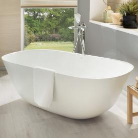 Villeroy & Boch Theano Freistehende Oval-Badewanne stone white
