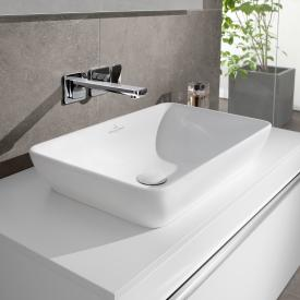 Villeroy & Boch Venticello Halbeinbau-Aufsatzwaschtisch weiß mit CeramicPlus