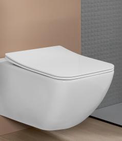 Villeroy & Boch Venticello WC-Sitz Slimseat, abnehmbar, mit Absenkautomatik