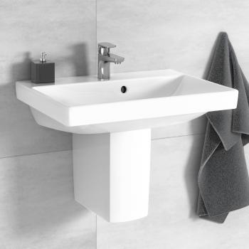 Villeroy & Boch Avento Waschtisch Compact weiß, mit Ceramicplus