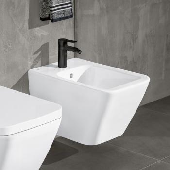 Villeroy & Boch Finion Wand-Bidet starwhite, mit CeramicPlus