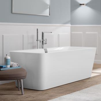 Villeroy & Boch Squaro Edge 12 Freistehende Badewanne weiß